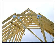 Haus dach gmbh - Pfettendach mit zweifach stehendem stuhl ...